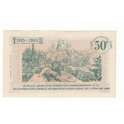 50 Centimes Chambre de Commerce de TARBES ANNULE NEUF 1915 Pirot 4