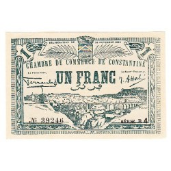LOT DE 2 BILLETS CHAMBRE DE COMMERCE D' ORAN 1923  P/NEUFS