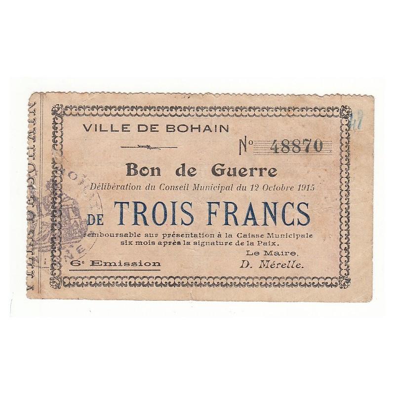 20 FRANCS 1870 MONNAIE OBSIDIONALE PLACE DE LANGRES 1870 TTB