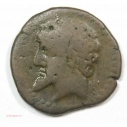 NUMISMIDIE, MASSINISA unité de Bronze 200-150 av J.C.