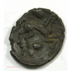 GALLIA - (Región de Beauvais) BELGIQUE - BELLOVACI  Bronze au personnage courant