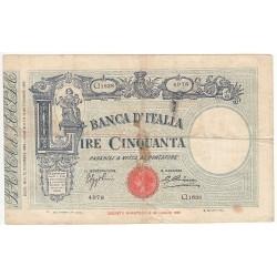 50 LIRE VITTORIO EMANUELE 1934