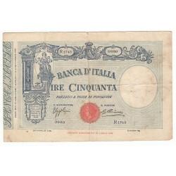 50 LIRE VITTORIO EMANUELE 1935
