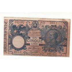 5 LIRE VITTORIO EMANUELE 1904