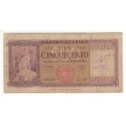 500 LIRE 1961