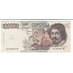 100 000 LIRE CARAVAGGIO