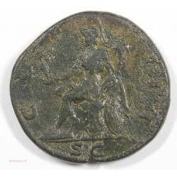 Romaine - Sesterce HADRIEN 126 ap.  J.C. Ric 636