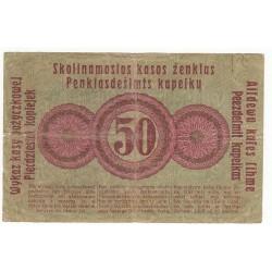 POLOGNE 50 KOPEKEN 1916