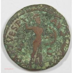 Romaine - As de CLAUDE tête à droite  42 AP J.C. RARE - Minerve