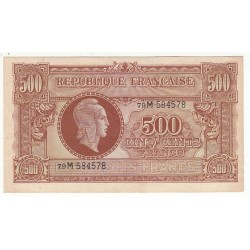 500 FRANCS MARIANNE 1945 SUP  Fayette VF11.2