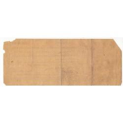 RUSSIE BON DU TRESOR DE 1000 ROUBLES 1919