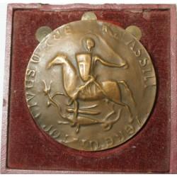 Médaille - Imitation d'un sceau Médiéval Marseillais - 250g 68mm