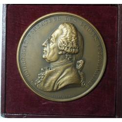 Médaille C. Bougelat Fondateur des écoles Vétérinaires, Depaulis F. 64mm 127g 1920
