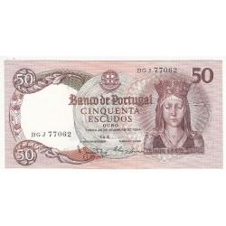 PORTUGAL 50 ESCUDOS 1964