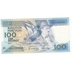 PORTUGAL 100 ESCUDOS 1988 TTB
