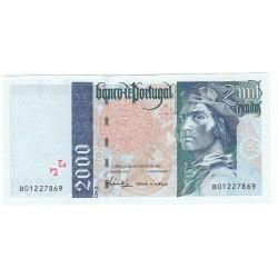 PORTUGAL 2 000 ESCUDOS 1997