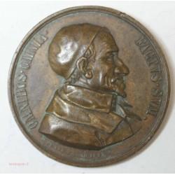 Médaille St-Vincent-de-Paul & Jésus le Bon Pasteur - PENIN .F1843