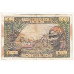 ETATS DE L' AFRIQUE EQUATORIALE 500 FRANCS