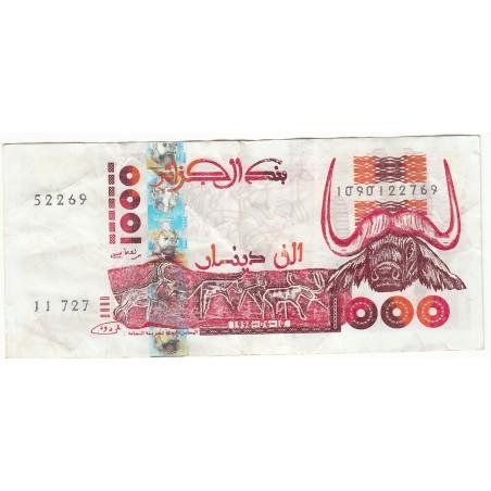 ALGERIE 1000 DINARS 1998
