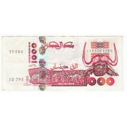 ALGERIE 1000 DINARDS 1998
