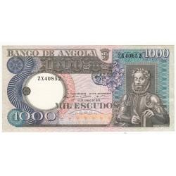 ANGOLA 500 ESCUDOS 10 JUIN 1973
