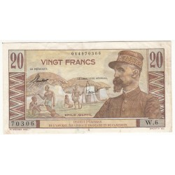 CAMEROUN - 20 FRANCS Pick 30 Emile GENTIL