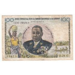 BANQUE CENTRALE DES ETATS DE L' AFRIQUE EQUATORIALE ET DU CAMEROUN - 100 FRANCS