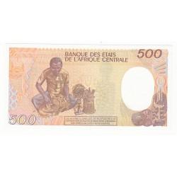GUINEE EQUATORIALE 500 FRANCS 1985