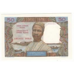 MADAGASCAR 50 FRANCS-10 ARIARY  Alp W.23 NEUF Pick 61.1a