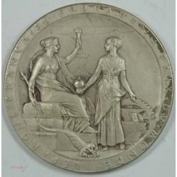 Médaille Ouverture à la navigation du canal de SUEZ 1869 SUPERBE Argent (1)