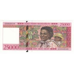 Madagascar25000 FRANCS