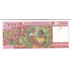 MADAGASCAR 25000 FRANCS - 5000 Ariary 1998 Neuf Pick 82