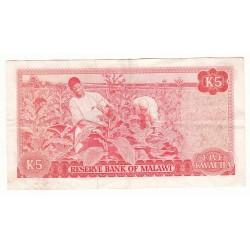 MALAWI 5 KWACHA 1979 SUP
