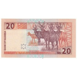 NAMIBIE 20 DOLLARS NEUF