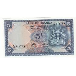OUGANDA 50 SHILLINGS 1982NEUF