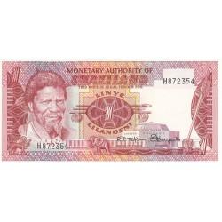 SWAZILAND 1 LILANGENI 1974 NEUF