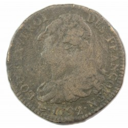 Louis XVI - 2 Sols 1792 N Montpellier TB