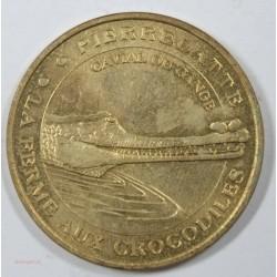 Médaille touristique MDP - Ferme des Crocodiles (26) 2001