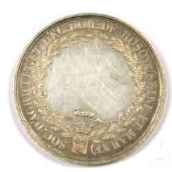 JETON argent - EX UTILITATE DECUS 28 MART. 1822 BARRE ( ROSOY SEINE ET MARNE)