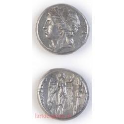 Tetradrachme AGATHOKLES SYRACUSE 305-295 av. J.C. - SNG Lyod 1494 ASSEZ RARE