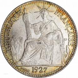 Indochine – 10 Cent. 1927 République assise