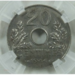 20 centimes Fer 1944 - Etat Français - spl/fdc