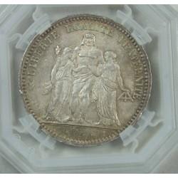 """HERCULE - ECU de 5 Francs 1873 A Paris """"MS62"""