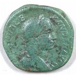 Romaine - Sesterce Alexandre SEVERE, 230 ap. J.C. RIC 616