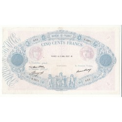 500 FRANCS BLEU ET ROSE 13 Mai 1937 TB+