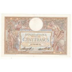 100 FRANCS LUC OLIVIER MERSON 2 Février 1933 SUP