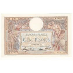 100 FRANCS LUC OLIVIER MERSON 23 Mai 1935  SUP