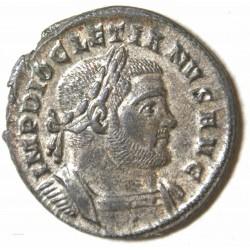 Romaine - Follis DIOCLETIEN, Trèves -303/5 ap. J.C. ttb+