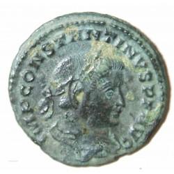 Romaine - Nummus Constantin I, revers F.T. 280-337 ap. J.C.