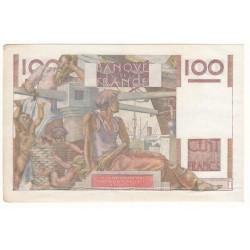100 FRANCS JEUNE PAYSAN 16 Novembre 1950 TTB